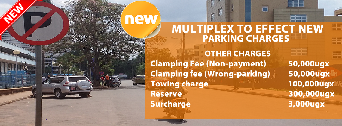 NEW PARKING CHARGES